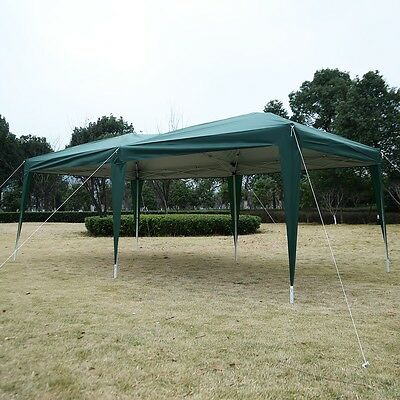 Outdoor Portable Gazebo Canopy Party Tent Wedding Marquee Carry Bag Pop Up 3X6m