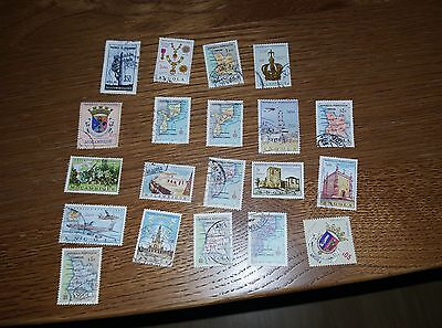 Collection Of Stamps From Africa