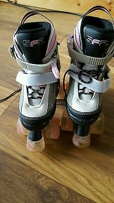 Girls adjustable roller skate size 12-2