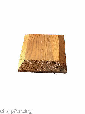 """10 x Post Cap Brown Treated for 3"""" (75mm) posts"""