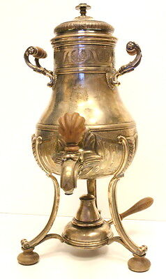 ANTIQUE SPANISH COFEE TEA WATER SAMOVAR SILVER 900* 1700 gr. 19-20 centry