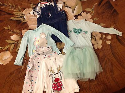 Girls Bundle Of Clothes 2-3years H&M, M&S, Nutmeg Etc.