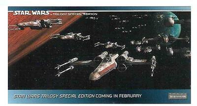 The Star Wars Trilogy - Special Edition Promo P3 X-wings Non-Sport Topps 1997