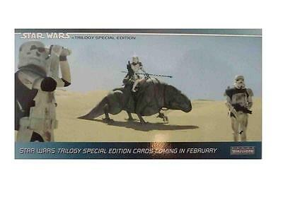 The Star Wars Trilogy - Special Edition Promo P1 Stormtroopers Conv Topps 1997