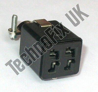 4 pin power connector for Yaesu FT-77 FT-707 FT-747 FT-757, Kenwood TS-700S etc.