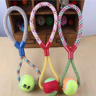 Durable Indestructible Puppy Dog Chew Toys Dog Gift Pet Toy Rope Braided Ball