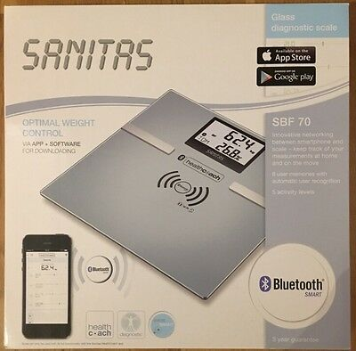 Glass Diagnostic Scale With Bluetooth