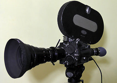 ARRIFLEX 16 M/B w/ ZOOM ANGENIEUX 12-240mm - FULL PACKAGE FILMING OUT OF THE BOX