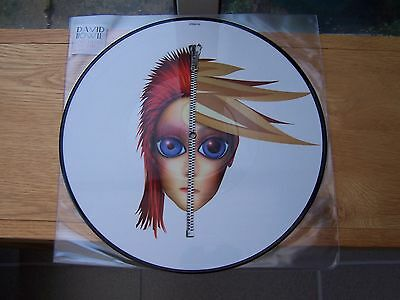 "David Bowie Rare 12"" Picture Disc Rebel Never Gets Old 4 Track Mint"