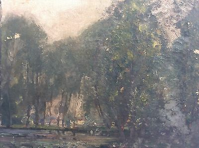 19th Century Oil Painting,Signed Will Bennett For Restoration
