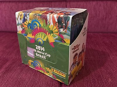 Panini Adrenalyn XL World Cup 2014 Brasil Display 50 Boosters New OVP