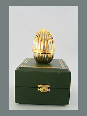'FRANKLIN MINT',Sterling silver'THE MASTER JEWELLER IMPERIAL EGG'.(B390)