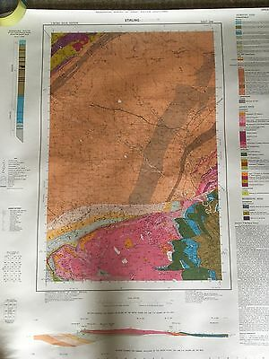 Geological Survey Map 1:50000 STIRLING solid sheet 39W