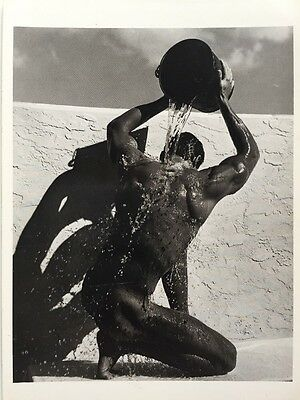 Postcard: Nude Male and Water Bucket