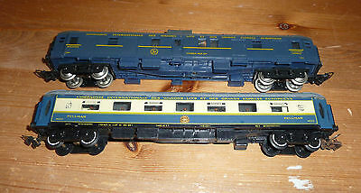 2 X Jouef CIWL Coaches Pullman and Fourgon HO Gauge