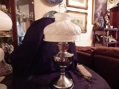 Victorian Famos Oil Lamp