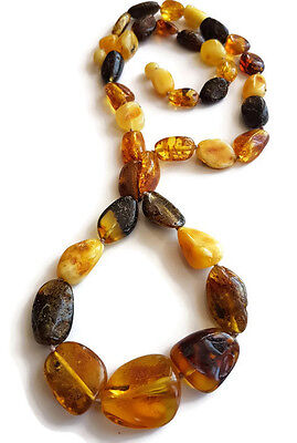 GENUINE BALTIC AMBER NECKLACE 36 g