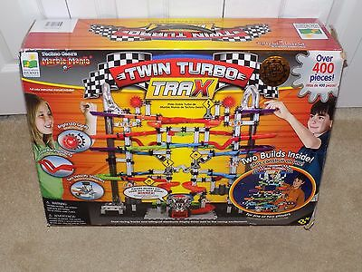 Learning Journey Turbo Gears Marble Mania Twin Turbo Trax--New in Box-400 Pieces