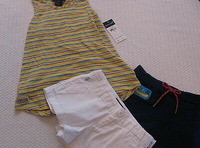 LOT NWT Girl's Ralph Lauren Shirt and Shorts SIze 5
