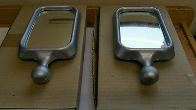 """Scammell Albion Aec  Pair Of Nesthill Mirrors  ( 6""""  X 4"""")"""