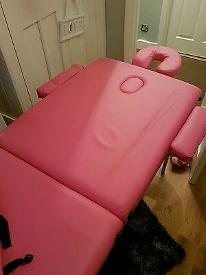 massage table foldable with carrycase (pick up only