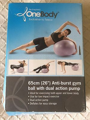 New Gym Ball Swiss Exercise Yoga Ball Fitness Core 65Cm