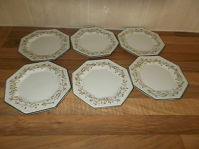 Eternal Beau Tea Plates x 6 - Johnson Brothers - V. G. C.