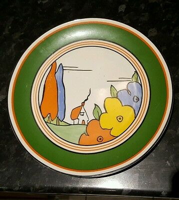 Wedgwood Clarice Cliff Poplar  Art Deco Design Limited Edition Collectors Plate
