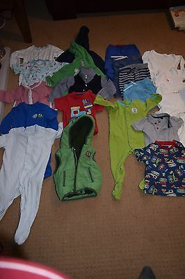 HUGE bundle of boys clothes 21 items - aged 9-12 months M&S/Little White Company