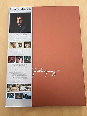 Freddie Mercury Solo Collection (10 CD, 2 DVD, 160 page book) MINT 2000 Queen