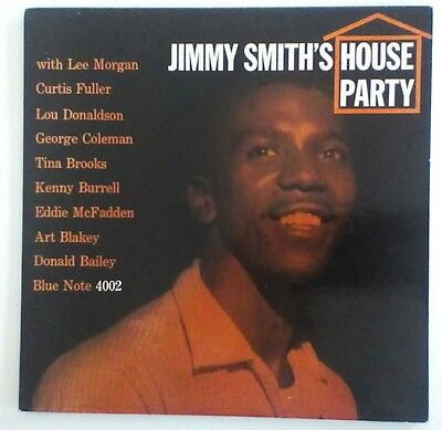 Jimmy Smith Lp House Party Blue Note 4002 Ear Rvg