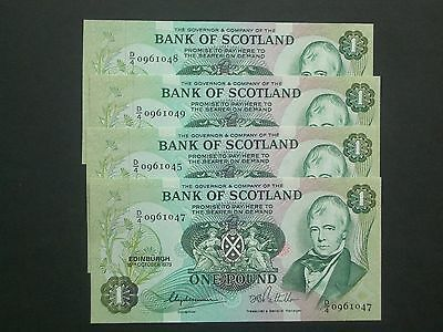 ** Perfect 'UNC' ****Bank-of-Scotland **£1 1979  BANKNOTE***