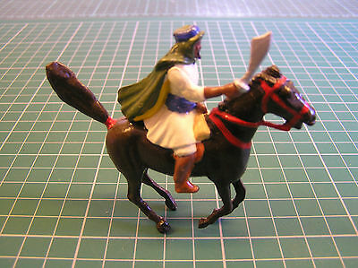 BRITAINS MOUNTED ARAB - lead good condition 2 of 2