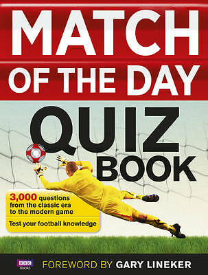 Match of the Day Quiz Book by Ebury Publishing (Paperback, 2013)