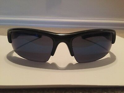 Men's Oakley Sunglasses Black With Blue Tinted Lens