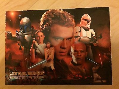 Star Wars Attack Of The Clones Series One Trading Cards
