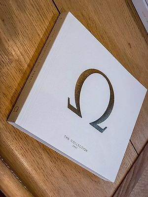 Omega 2017 Swiss Watch Catalogue Brochure and Price List - New