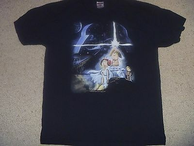 Family Guy T Shirt ( Star Wars Spoof) Size L