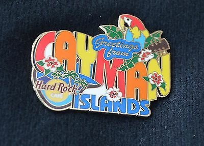 HARD ROCK CAFE PIN - Cayman, Islands, Greetings From Series.  2004, LE1500