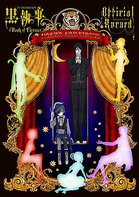 Black Butler Book of Circus - TV Animation Guide Artbook ( Kuroshitsuji ) *  neu