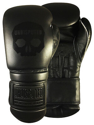 Undisputed Boxing Gloves Full Leather 16oz Sparring & Training Gloves
