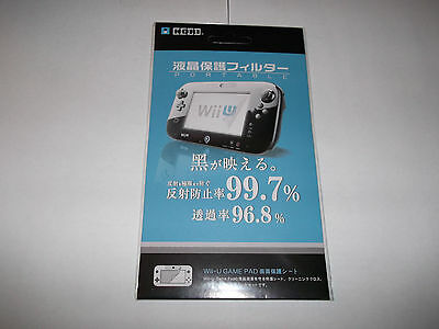 Nintendo Wii U gamepad screen protector! Ships from Canada! Brand New