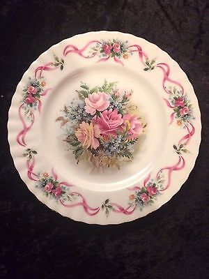 "Royal Albert Happy Birthday 8"" Decorative Plate Second Edition"