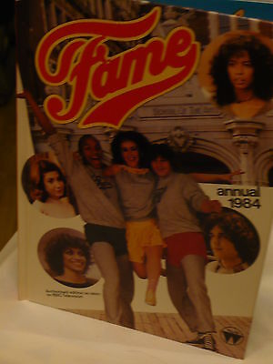Vintage 1984 Fame Annual (Teenagers Must Have Book Of The 80's.(Film) Hardback