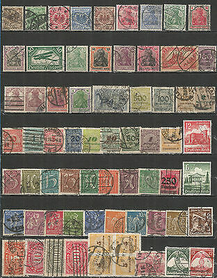 Reich Nazi from 1889 year , Germany nice Collections , old used stamps