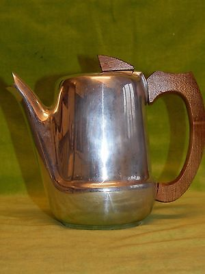 Vintage PICQUOT WARE 1¼ pint Coffee, Hot Water Pot, Mid Century Modernist Style