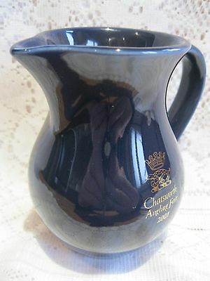 """A """"chatsworth Angling Fair 2001"""" Jug By """"holkham"""" - Good Condition."""