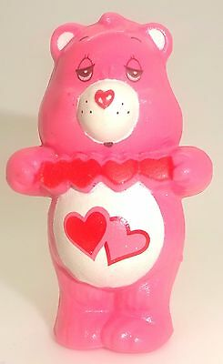 "Vintage Care Bears 2"" Figure 'Love-a-Lot' Holding Hearts*1983*A.G.C"