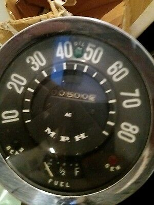 Ford thames van speedometer very rare classic ford barn find project 400e