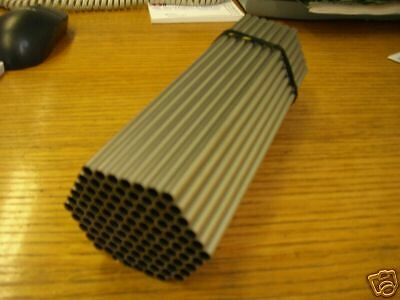 25 Stainless Steel Tubes 6.35mm dia x 0.25 wall x 217 lg